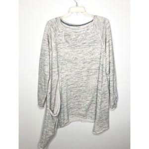 Calvin Klein Asymmetrical sweater tunic Size 1X